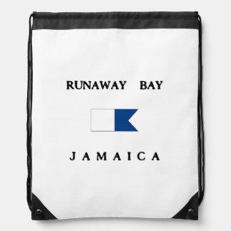 Runaway Bay Jamaica Alpha Dive Flag Backpack
