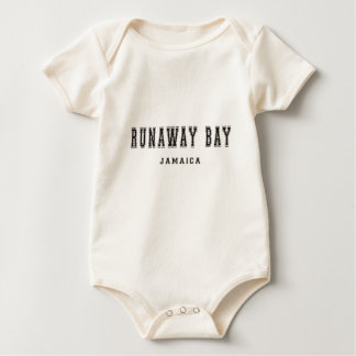 Runaway Bay Jamaica Baby Bodysuit