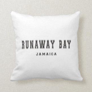 Runaway Bay Jamaica Throw Pillow