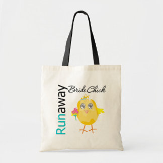 Runaway Bride Chick Budget Tote Bag