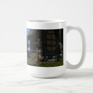 Runaway Gingerbread Man Coffee Mug