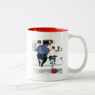Runaway Two-Tone Coffee Mug