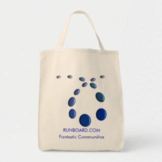 Runboard Grocery Tote Tote Bag