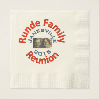 Runde Reunion 2015 Dinner Napkins