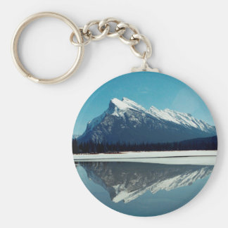 Rundle Mountain, Banff Keychain