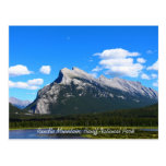 Rundle Mountain Banff National Park Postcard