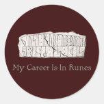 Rune DR 81 Round Sticker