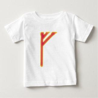 rune Fehu Futhark Baby T-Shirt