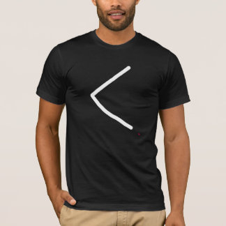 rune Kaunan rune represents ulcer or torch. T-Shirt