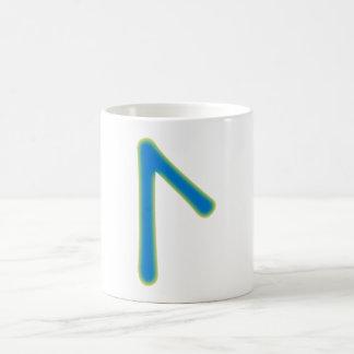 Rune Laguz Coffee Mug