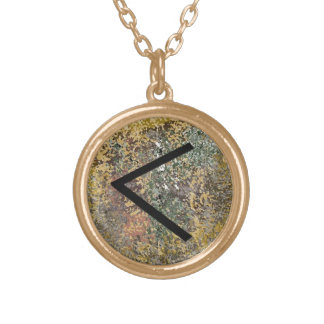 Rune Necklace - Kenaz - Gold