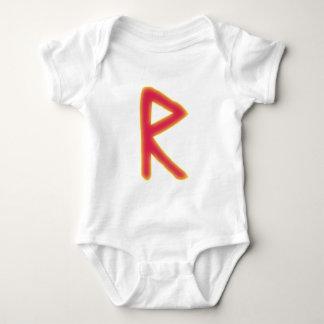 rune Raidho Futhark Baby Bodysuit