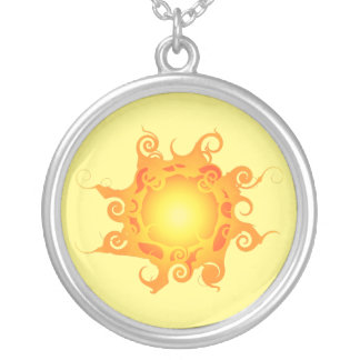 Rune Sun Necklace