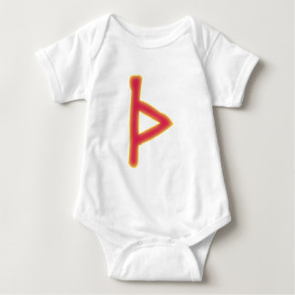 rune Thurisaz futhark Baby Bodysuit