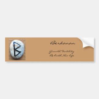 Runes Bumper Sticker