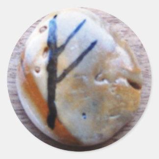 Runes Classic Round Sticker