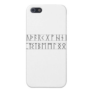 Runes Elder Futhark Case For iPhone SE/5/5s