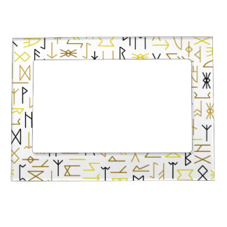 Runes Magnetic Photo Frame