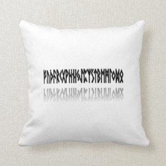 Runes Reflected - Pillow