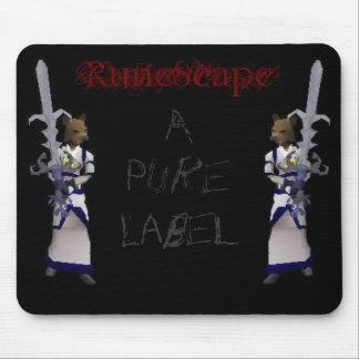 RuneScape - A Pure Label Mouse Pad
