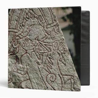 Runic stone 3 ring binder