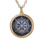 Runic Vegvísir Compass - Viking Necklace