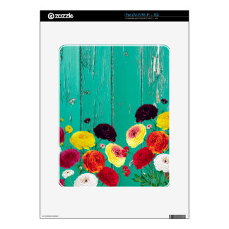 Runinculus and green fence skin for iPad