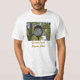 Runkle Clock, Garver ParkBryan, Ohio T-Shirt