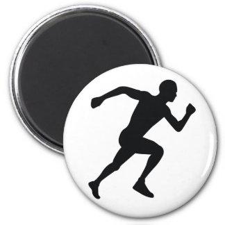 Runner 2 Inch Round Magnet