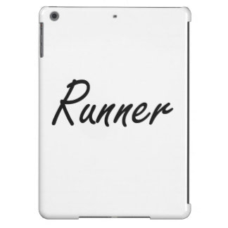 Runner Artistic Job Design iPad Air Cases
