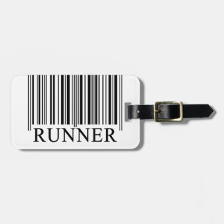 Runner Barcode Luggage Tag