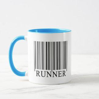 Runner Barcode Mug