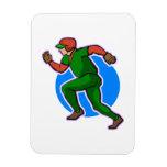 Runner Baseball Flexible Magnets