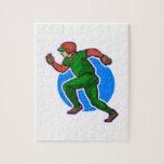 Runner Baseball Jigsaw Puzzles