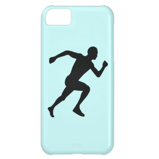 Runner Black Silhouette Shadow Case For iPhone 5C
