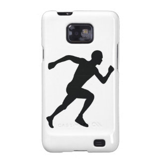 Runner Black Silhouette Shadow Galaxy SII Cover