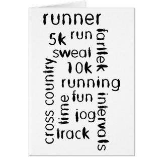 Runner Card