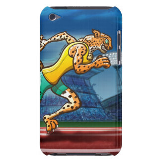 Runner Cheetah Barely There iPod Case
