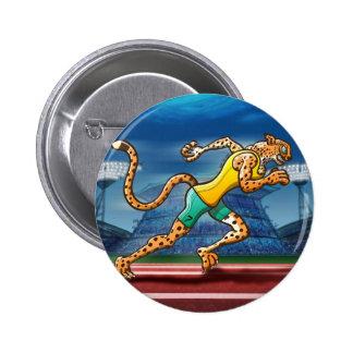 Runner Cheetah Pin