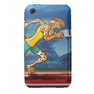 Runner Cheetah Case-Mate iPhone 3 Case