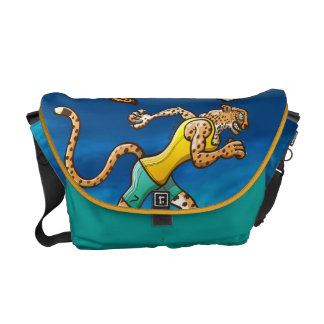 Runner Cheetah Courier Bag
