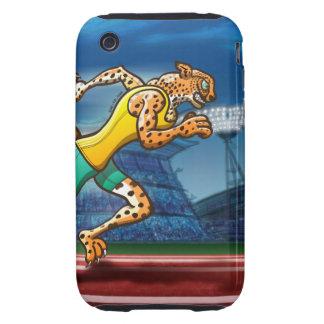 Runner Cheetah iPhone 3 Tough Cover