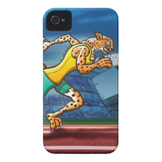 Runner Cheetah iPhone 4 Case