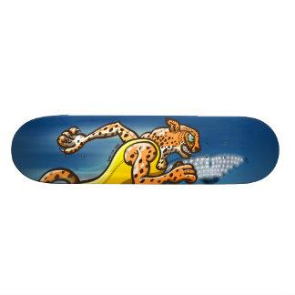 Runner Cheetah Skateboard Deck