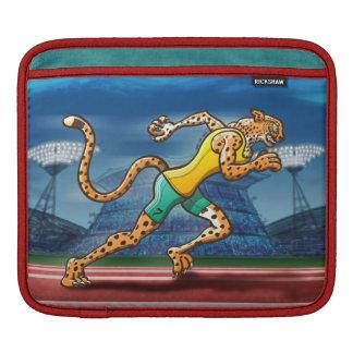 Runner Cheetah Sleeves For iPads