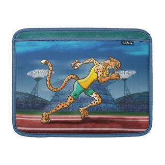 Runner Cheetah Sleeves For MacBook Air