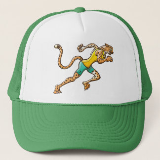 Runner Cheetah Trucker Hat