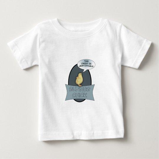 Runner Chick Baby T-Shirt
