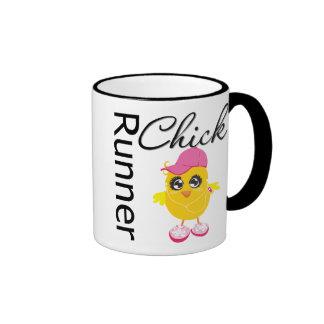 Runner Chick Ringer Mug