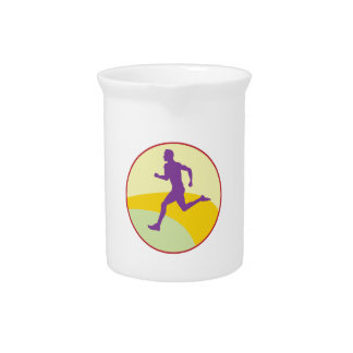 Runner Circle Drink Pitchers